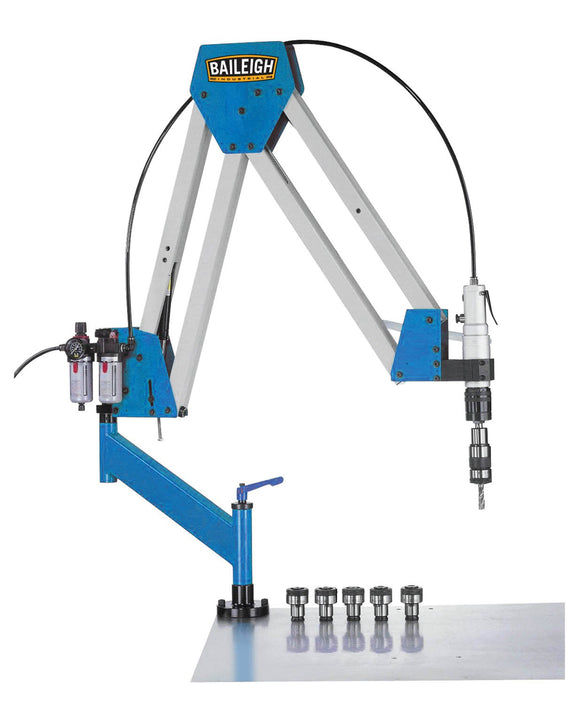 Baileigh - ATM-27-1900 - Double Arm Articulated Air Powered Tapping Machine