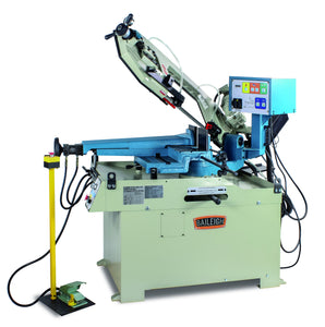 Baileigh - BS-350SA - Dual Mitering Semi-Automatic Metal Cutting Bandsaw