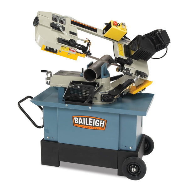 Baileigh - BS-712MS - Metal Cutting Band Saw With Vertical Cutting Option