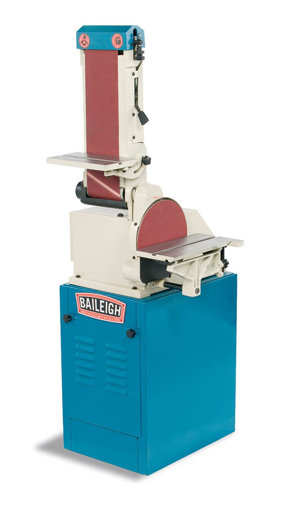 Baileigh - DBG-106 - Combination Belt and Disk Grinder