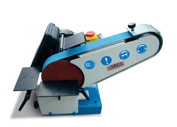 Baileigh - DBG-62 - Combination Belt and Disk Grinder