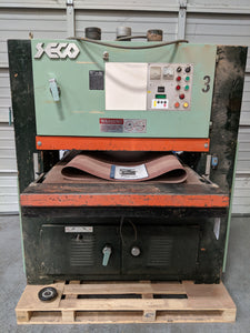 "SECO 37"" Wide Belt Sander"