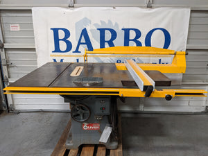 "OLIVER 370  16"" Table Saw"