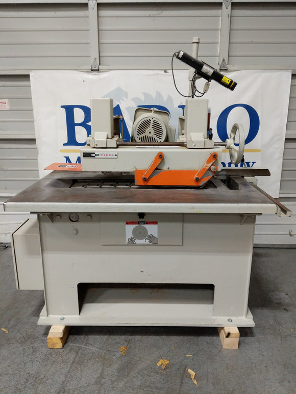 DIEHL Model ESL 25 III Straight Line Rip Saw