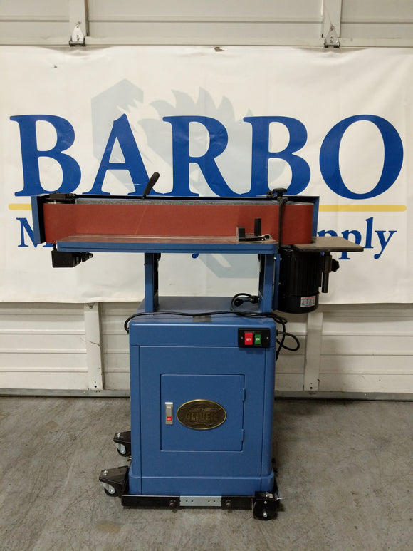OLIVER M-6303 Edge Sander w/ Mobile Base and Extra Belts