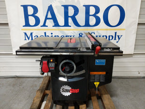 SAWSTOP Industrial Cabinet Saw w/ Short Fence