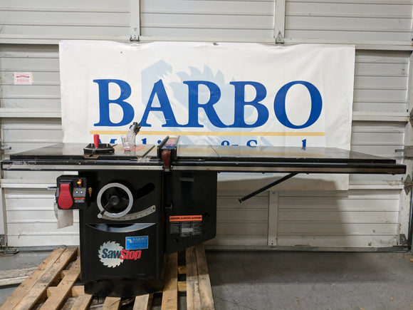 SAWSTOP CB51230 Table Saw w/ 52