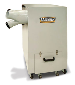 Baileigh - MDC-3500-HD - Metal Dust Collector with Air Pulse Clean and HEPA Filter