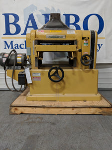 "Powermatic 18"" Planer"
