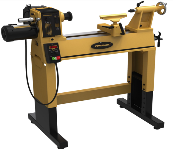 Powermatic 2014 Lathe, 1HP 1PH, 115V