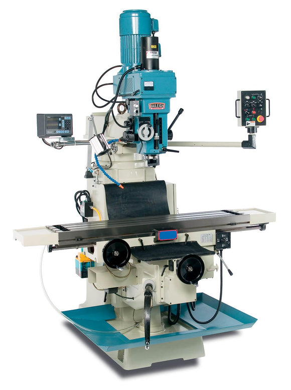 Baileigh - VM-1258-3 - Variable Speed Vertical Milling Machine