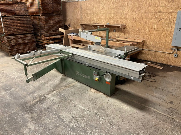 ALTENDORF F45 Sliding Tabel Saw