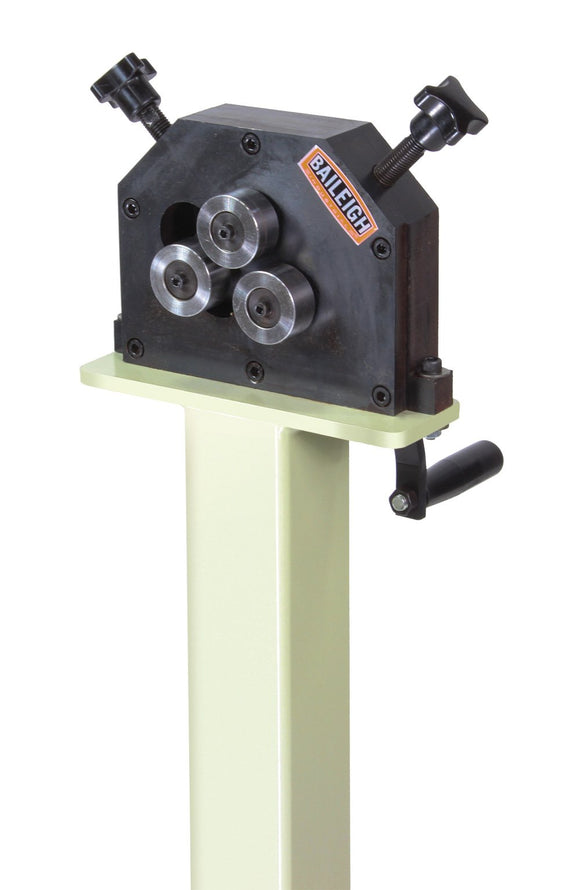 Baileigh - R-M5 - Manually Operated Three Roll Ring Roller with Stand