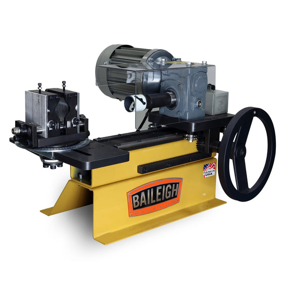 Baileigh - TN-300 - Bench Top Hole Saw Tube and Pipe Notcher