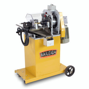 Baileigh - TN-800 - Eccentric Cut, End Mill Style Tube & Pipe Notcher