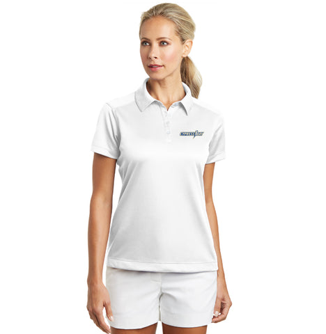 LADIES NIKE GOLF - DRI-FIT PEBBLE TEXTURE POLO