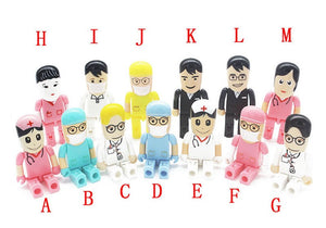 Doctor & Nurse Models USB Flash Drive