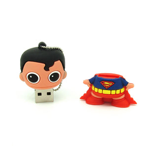 Cartoon Super Hero USB Flash Drive