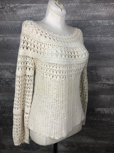 70s Cotton Crochet Top