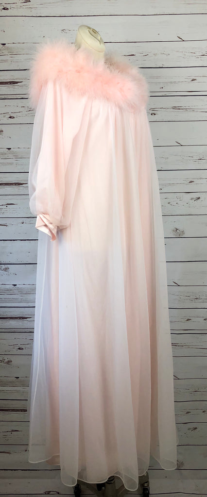 Pink Princess Lucie Ann Marabou Dressing Gown/Robe – Company Voulez Vous