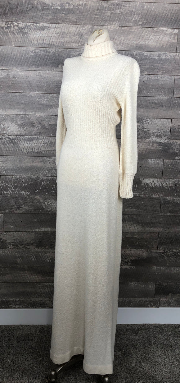 70s sweater dress