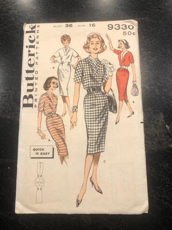 50s Quick Dress Pattern