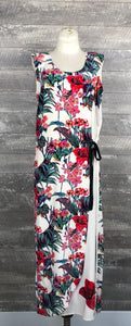 Vintage Tere Tereba silk floral dress