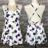 Purple Rose 40s/50s Lastex Swimsuit