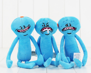 Rick and Morty Mr Meeseeks Plush Teddy Doll