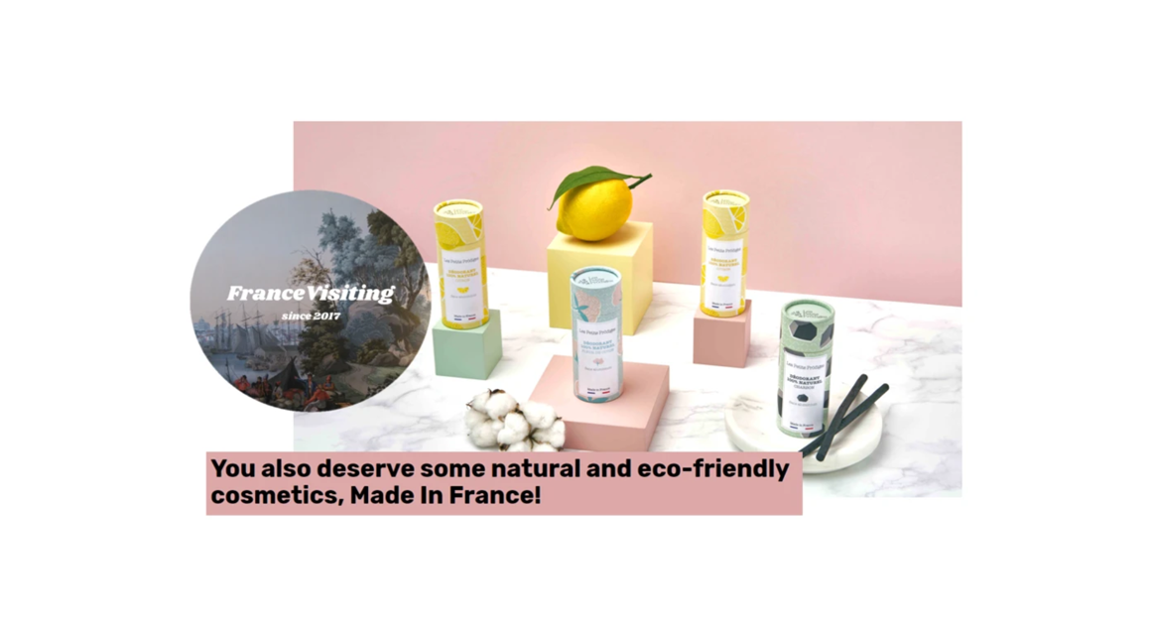 France visiting : You also deserve some natural and eco-friendly cosmetics, Made In France!