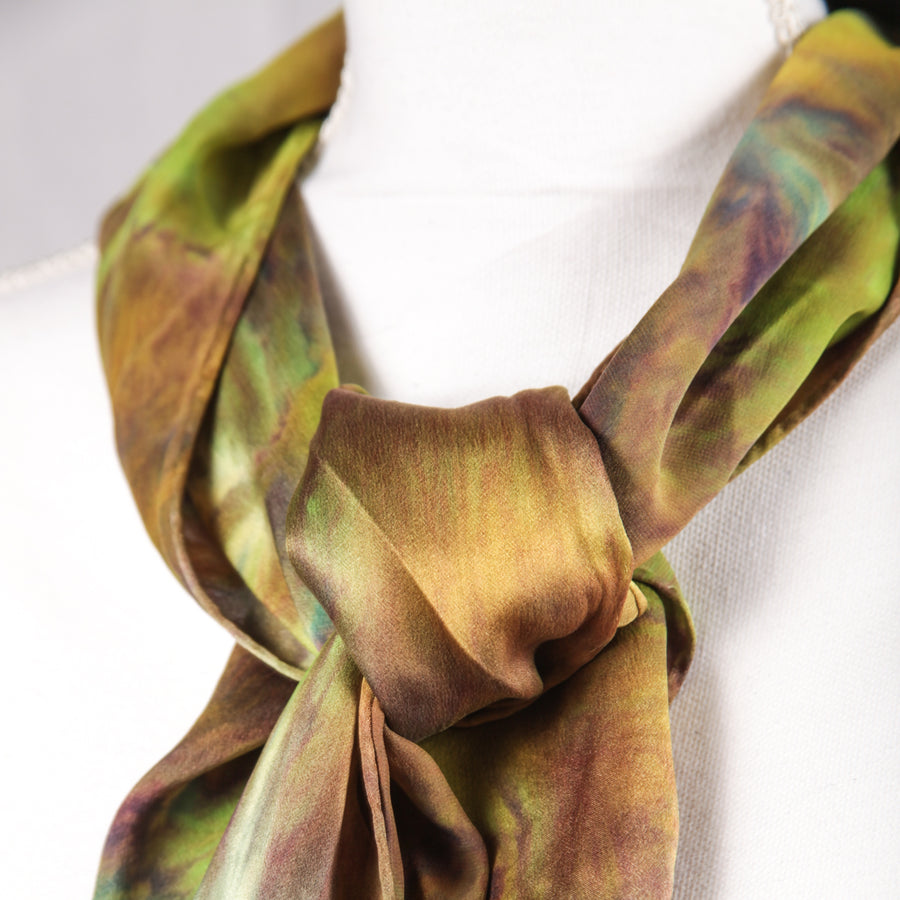 Hugo Original Silk Scarf - December 2017 - Scarf 001
