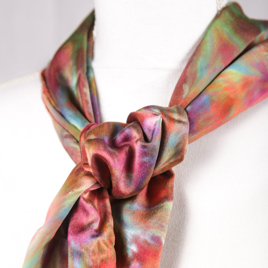 Hugo Original Silk Scarf - December 2017 - Scarf 002