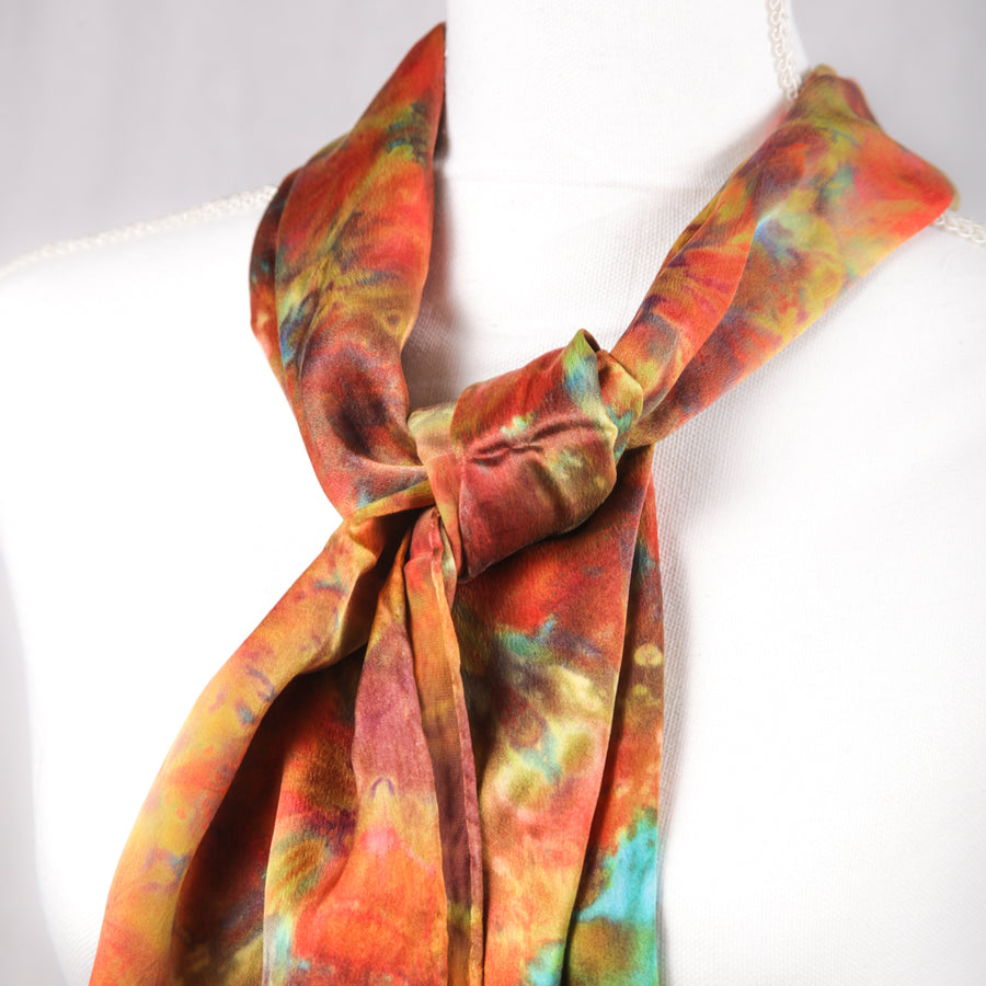 Hugo Original Silk Scarf - December 2017 - Scarf 003