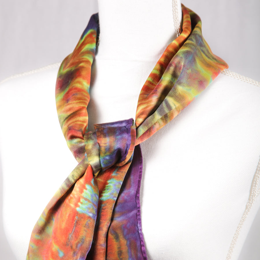 Hugo Original Silk Scarf - December 2017 - Scarf 004