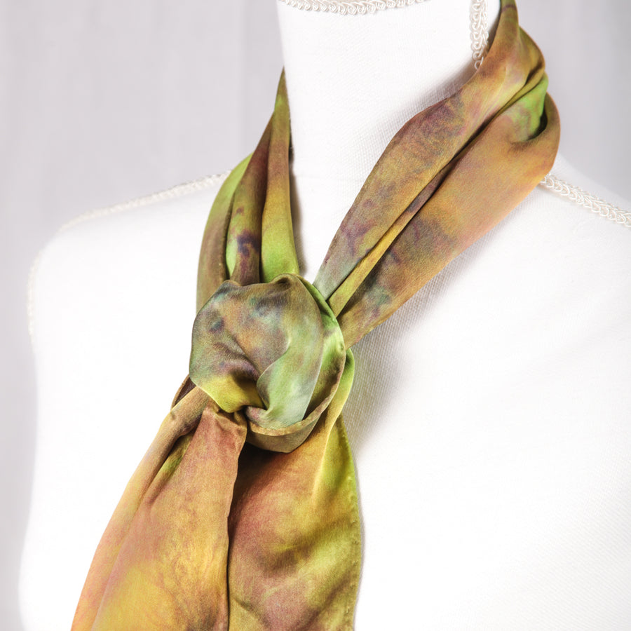Hugo Original Silk Scarf - December 2017 - Scarf 005