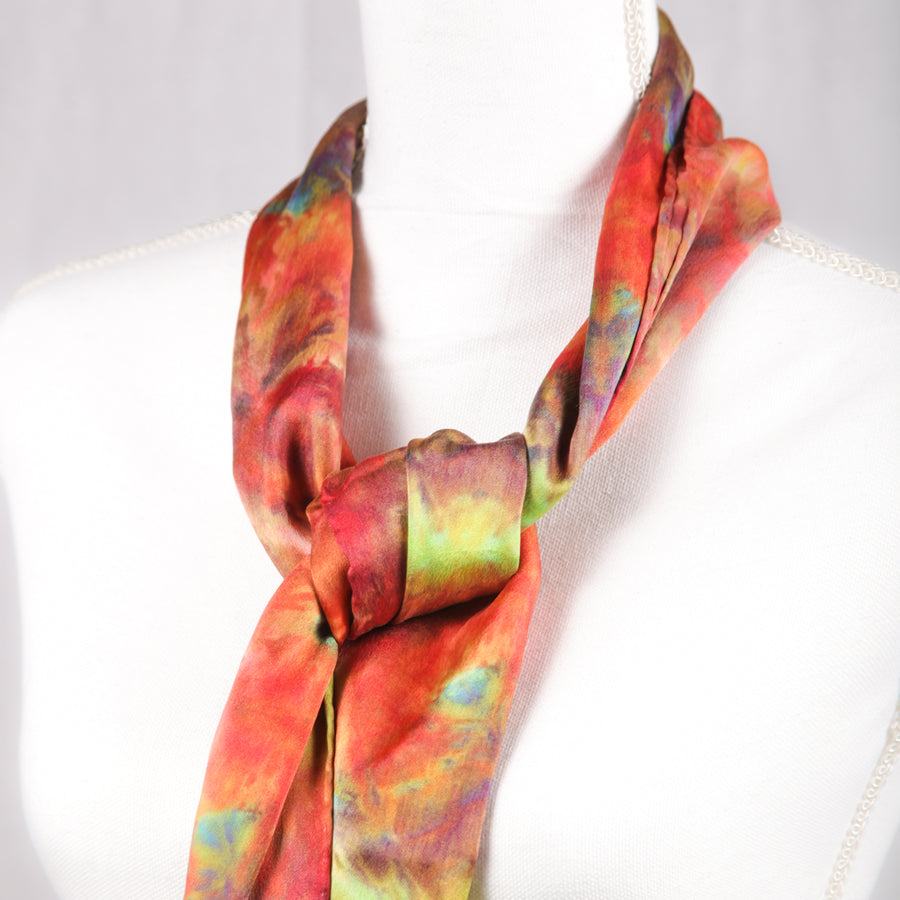 Hugo Original Silk Scarf - December 2017 - Scarf 007