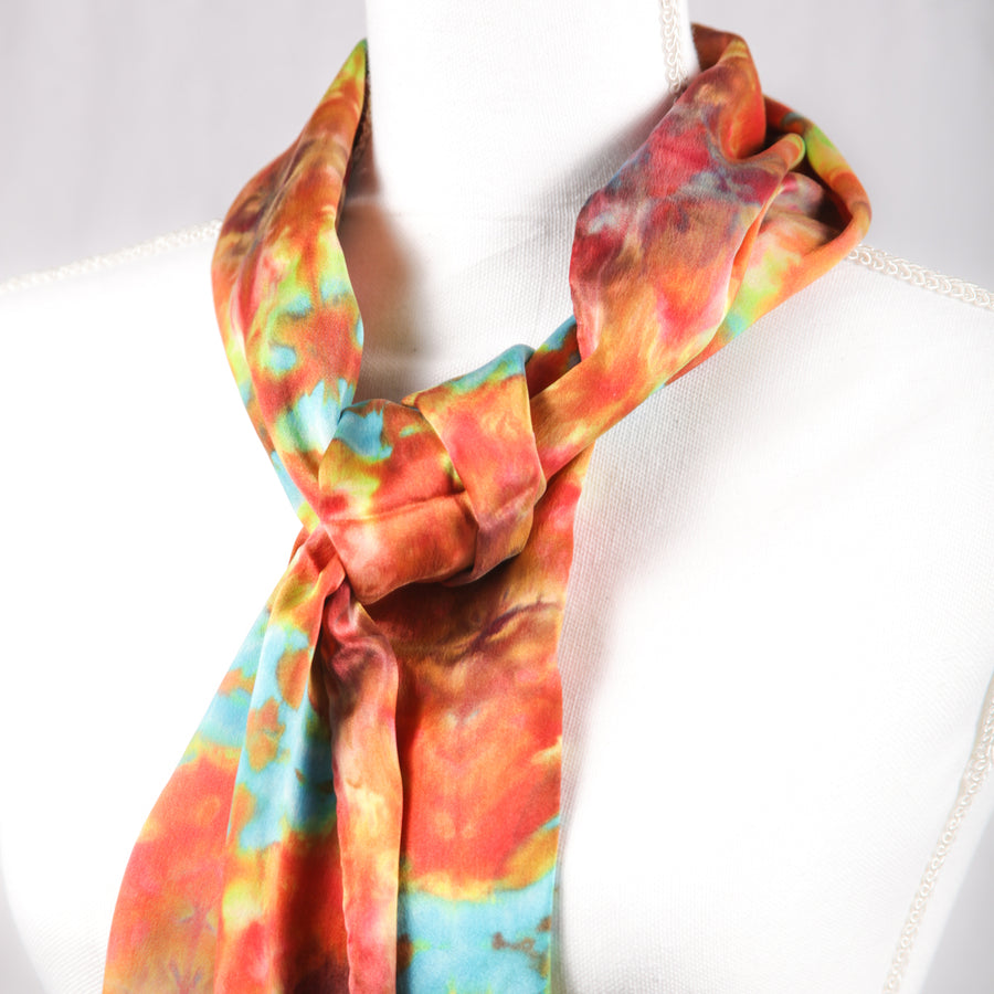 Hugo Original Silk Scarf - December 2017 - Scarf 010