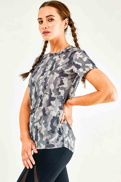 Sweat Proof Camouflage Tshirt