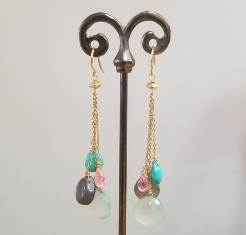 Sleeping beauty Tourqouise earrings