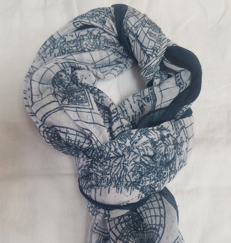 The world in a scarf
