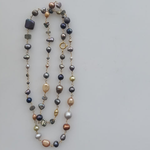 All and only Pearls necklace