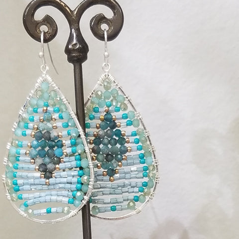 Turquoise and more earrings