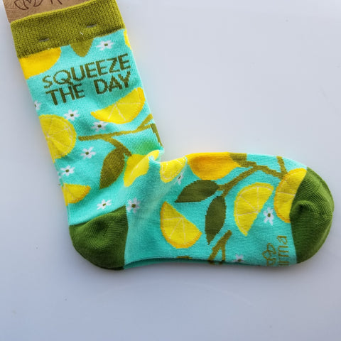 Squeeze the day women socks