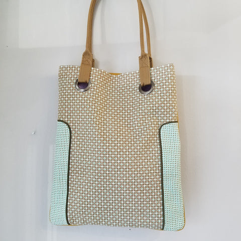French tote hand bag