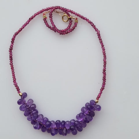 Spirit of Amethyst necklace