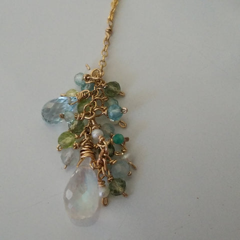 Spring party necklace