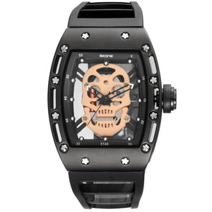 2017 Steampunk Skeleton Pirate Watch
