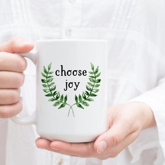 Choose Joy Christmas Mug