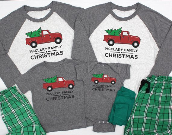 Custom Christmas Pyjamas