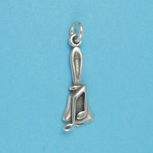 Bell with musical note charm